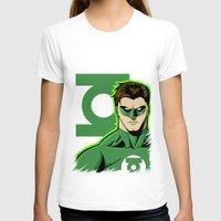 green lantern T-shirts featuring Green Lantern by J. J.