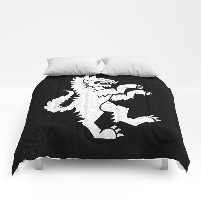 WHITE TIGER Comforters