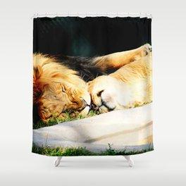 Cat Nap (Jungle Love) Shower Curtain