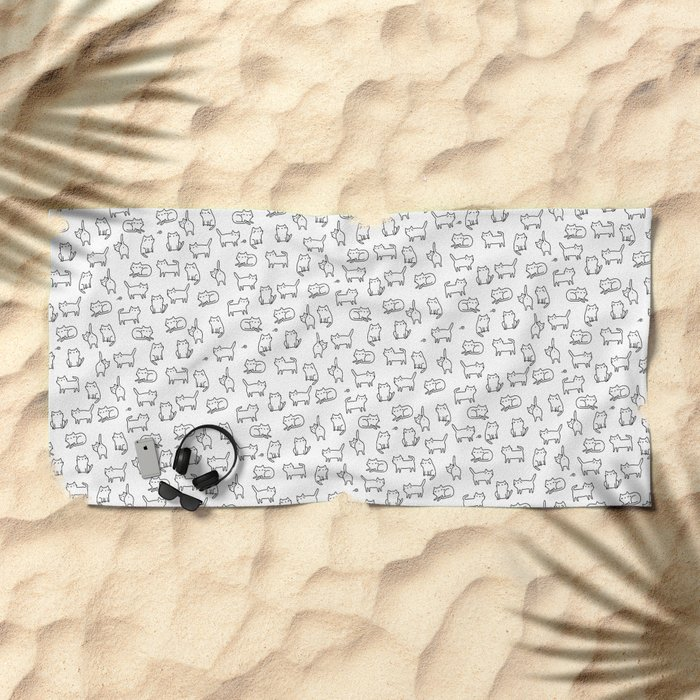 Cats. Cats. Cats Beach Towel