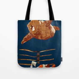 flaying bear Tote Bag