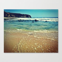 Clear Sea Canvas Print