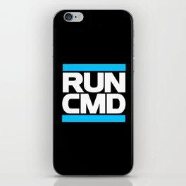 run CMD iPhone Skin