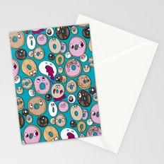Donut Pattern Stationery Cards