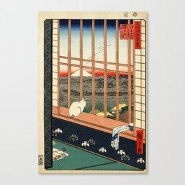 Asakusa ricefields and torinomachi festival Canvas Print