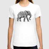 bioworkz T-shirts featuring Ornate Elephant 3.0 by BIOWORKZ