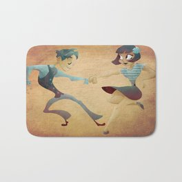 Swing dance 2 Bath Mat
