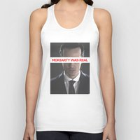 moriarty Tank Tops featuring Moriarty Was Real / Moriarty / IV by Earl of Grey