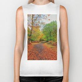 Autumn Dream Biker Tank