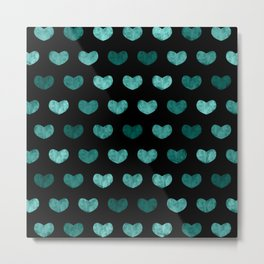 Cute Hearts VII Metal Print