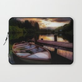 Summer Sunset Over Loch Ard Laptop Sleeve