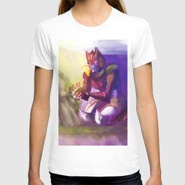 Dinobot and the Flower T-shirt