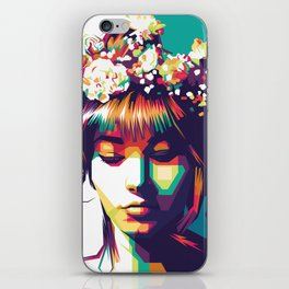 Beautiful Flowers iPhone Skin