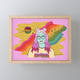 Virgo Framed Mini Art Print