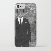 moriarty iPhone & iPod Cases featuring Moriarty by Amy K. Nichols