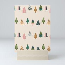 Christmas Trees (Highland) Mini Art Print