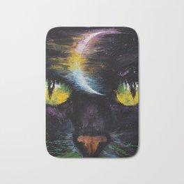Moon Cat Bath Mat