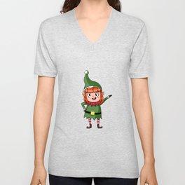 Christmas Elf North Pole elves Children Gift Unisex V-Neck