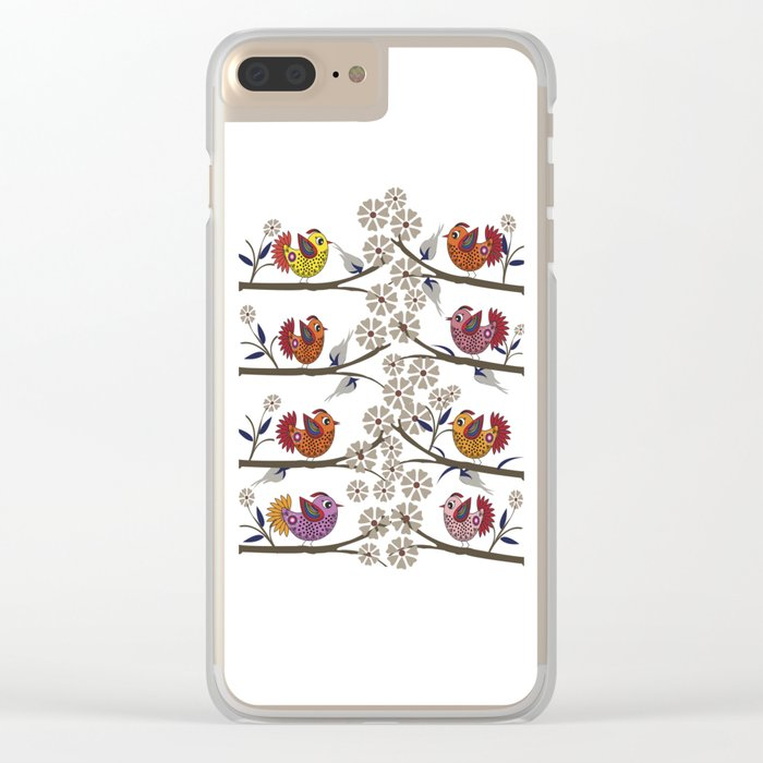 birds 1 Clear iPhone Case