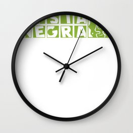 s6_t_logo4_gr Wall Clock