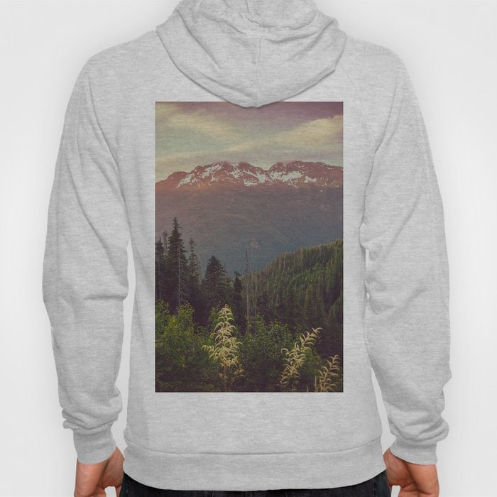 Mountain Sunset Bliss - Nature Photography Hoody