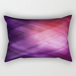 Amazing Abstract Triangular Galaxy - Visual Art V.2 Rectangular Pillow