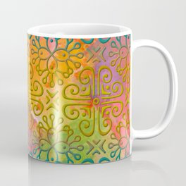 DP050-6 Colorful Moroccan pattern Coffee Mug