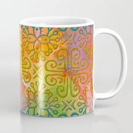DP050-6 Colorful Moroccan pattern Coffee Mug
