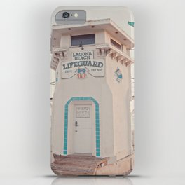 Laguna Beach iPhone Case