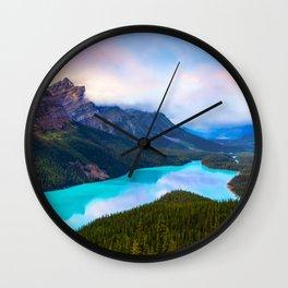 Peyto Lake, Banff Wall Clock