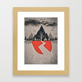 With Ears To See And Eyes To Hear Framed Art Print