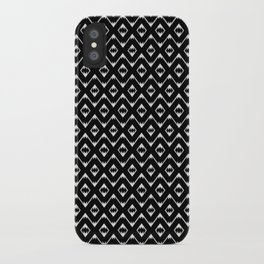 Southwestern in Black and White - You Can Ride It iPhone Case