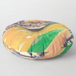 LSU Softball Floor Pillow