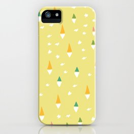 Happiness In Shapes 4 iPhone Case