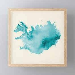 Iceland Framed Mini Art Print