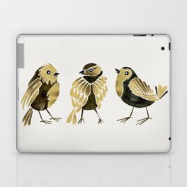 24-Karat Goldfinches Laptop & iPad Skin