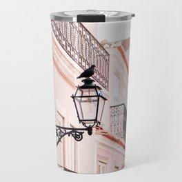 City Bird in Lisbon, Portugal - Wall Art Photo Print Travel Mug