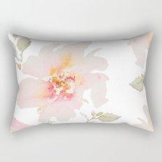 Pink Spring Flower Rectangular Pillow