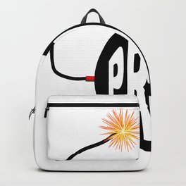 Prices Bomb And Lit Fuse Backpack