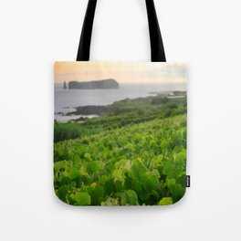 Grapevines and islet Tote Bag