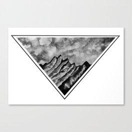 Triangle Mount Canvas Print