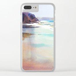 Papagayo Beach Clear iPhone Case