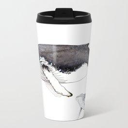 North Atlantic Humpback whale with calf Travel Mug