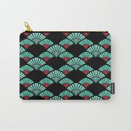 Turquoise Night Carry-All Pouch