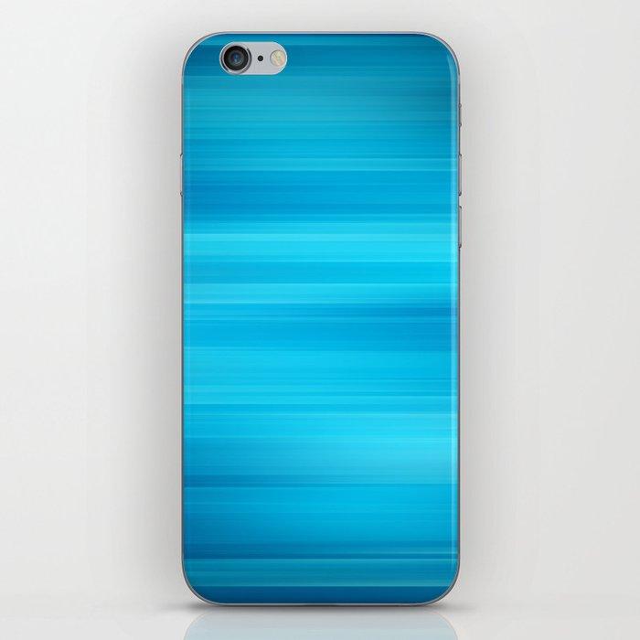 Blue Waves II iPhone Skin