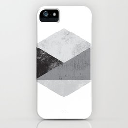 Hexagon Art iPhone Case