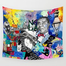 The Sound of New Orleans Wall Tapestry