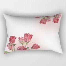 Never Ending Roses Rectangular Pillow