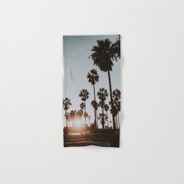 palm trees vi / venice beach, california Hand & Bath Towel