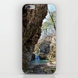 Alone in Secret Hollow with the Caves, Cascades, and Critters, No. 16 of 21 iPhone Skin